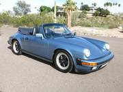 1986 Porsche 911Carrera Convertible 2-Door