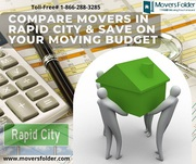 Compare Movers in Rapid City & Save on your Moving Budget